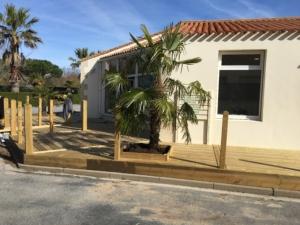 Terrasse et accès handicapé