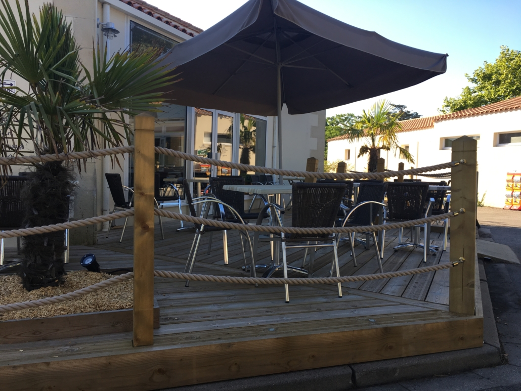 Terrasse bar hotel