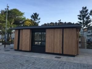 Bâtiment public bois