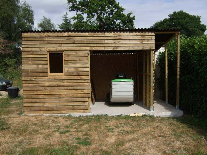 Cabane de jardin bois